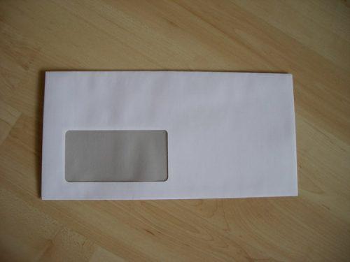 1000 Kuvertierhüllen DIN C6/lang