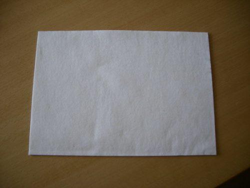 Befeuchtungsfilz für Kuvertiermaschinen