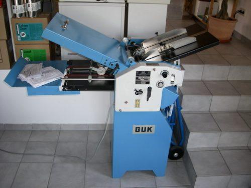 Falzmaschine GUK A 3