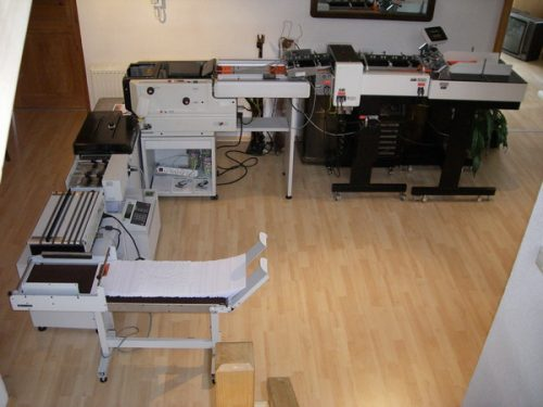Kuvertiermaschine FP 4000 VA OL