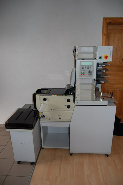 Kuvertiermaschine FP 4000 Mailcenter