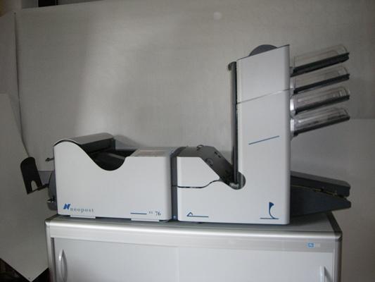 Kuvertiermaschine Neopost Si 76