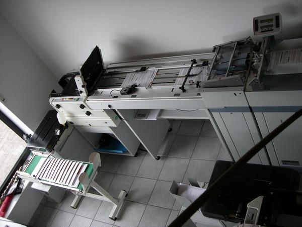 Kuvertiermaschine FP 4000 OL