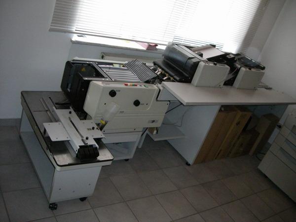 Kuvertiermaschine FP 4000 VA